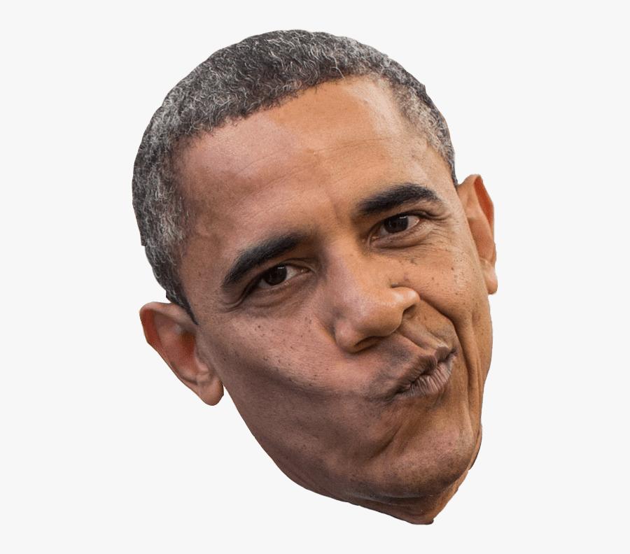 Barack Obama Face Png , Free Transparent Clipart.
