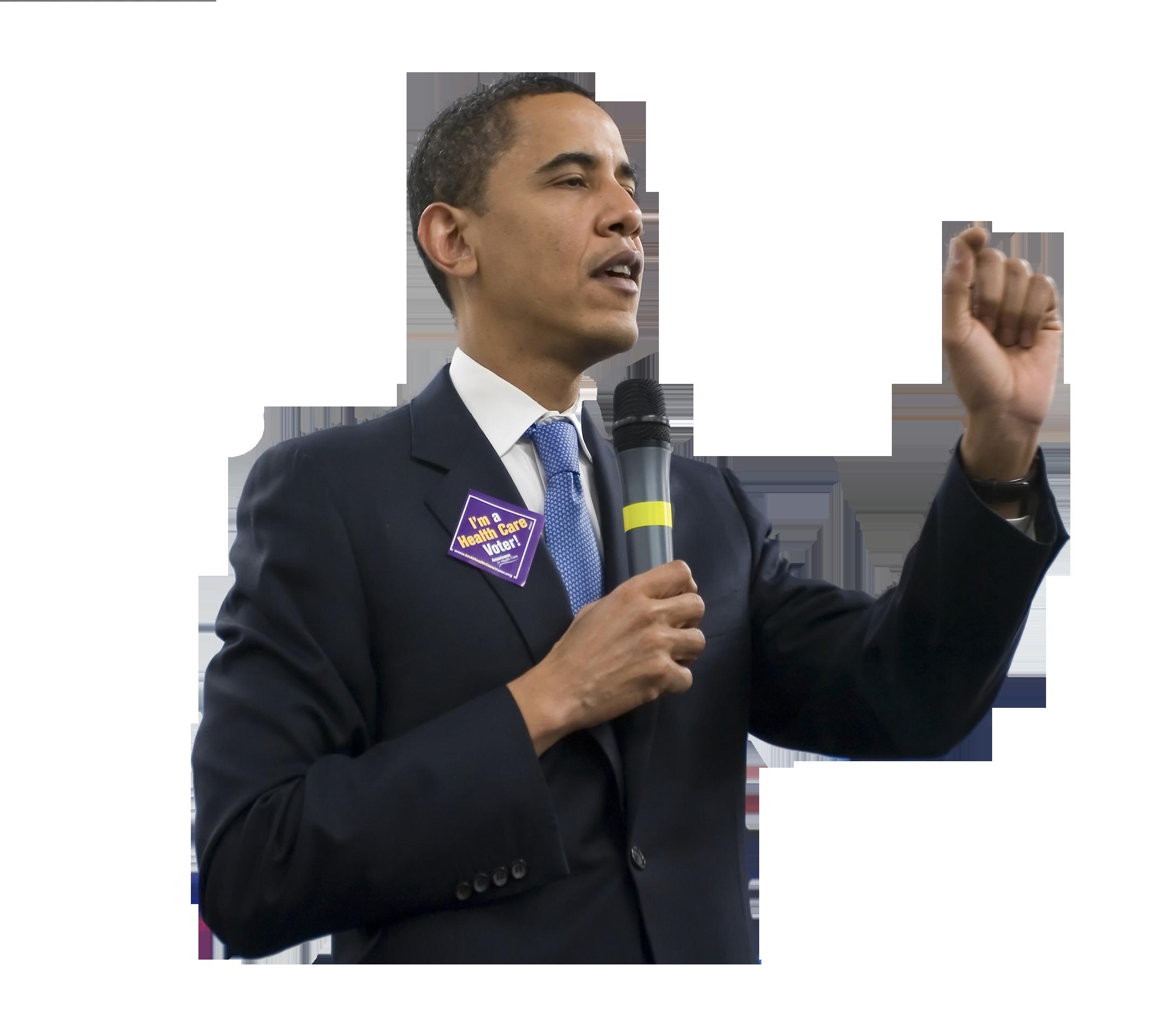 Barack Obama PNG Image.