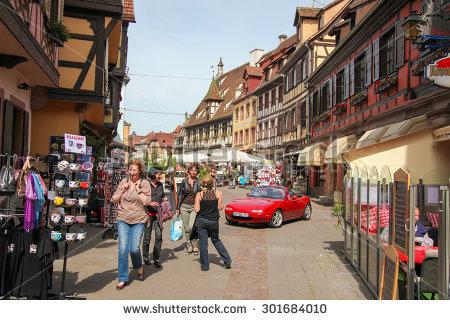 Obernai Stock Photos, Royalty.