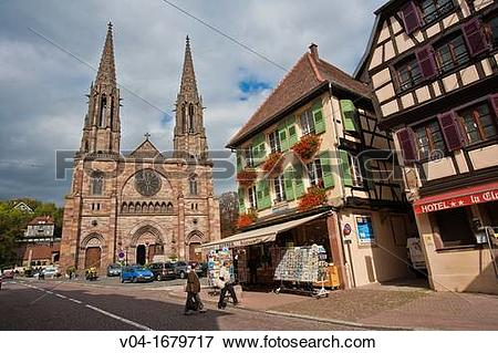 Picture of The imposing church Saint.