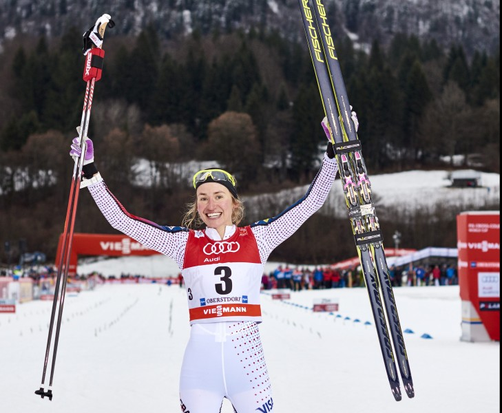 Fully Fischer: Caldwell Breaks Through in Oberstdorf // Fischer.