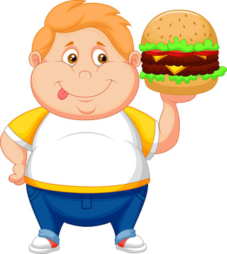 Obesity Clipart.