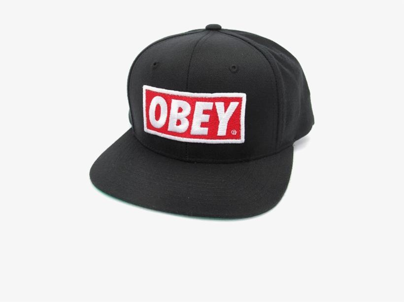 Obey Cap Png Transparent Image.