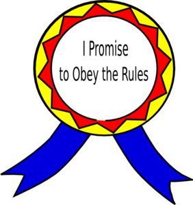 School Rules Obey Clipart.