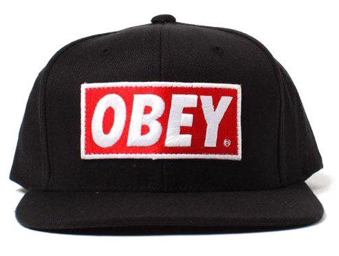 Obey Cap PNG Photo.
