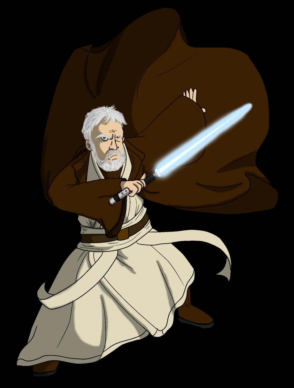 Obi One Kenobi Clip Art.