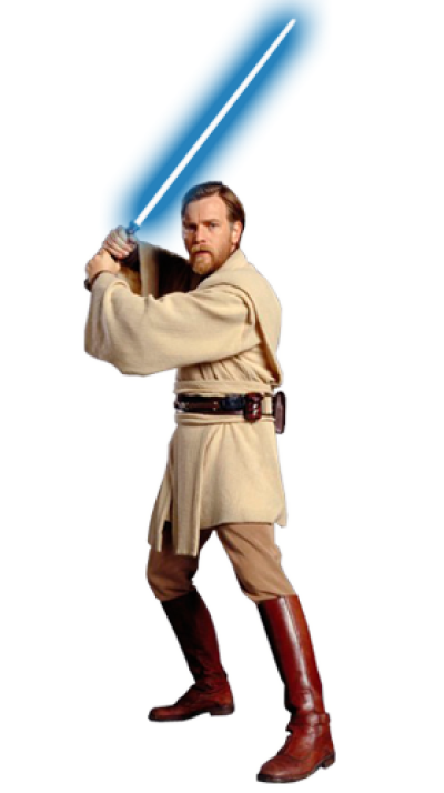 Download Free png PNG Obi Wan Kenobi (Star Wars) PNG World.