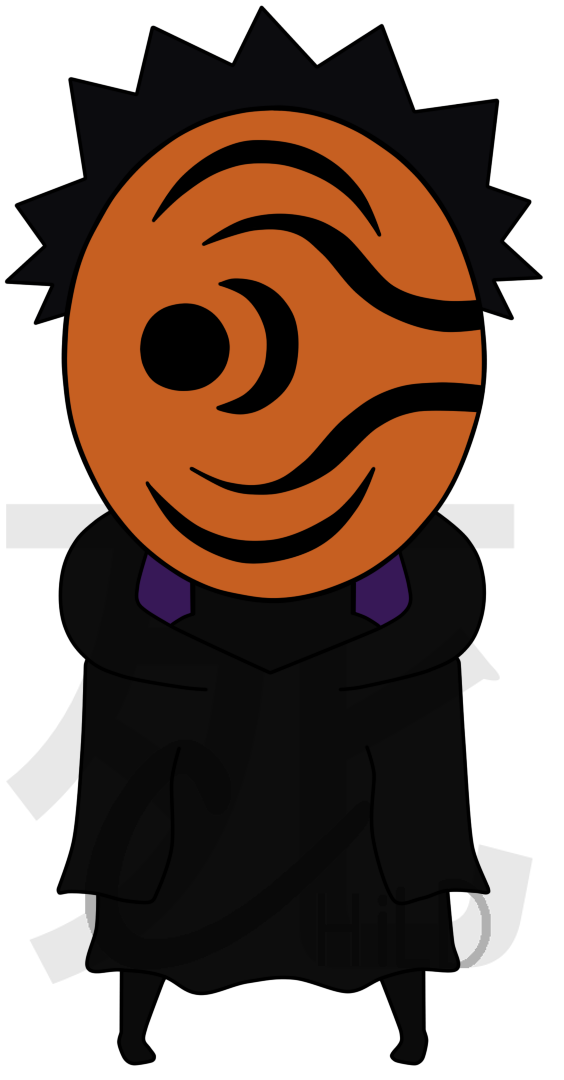 Obito Chibi by GwenSour on DeviantArt.