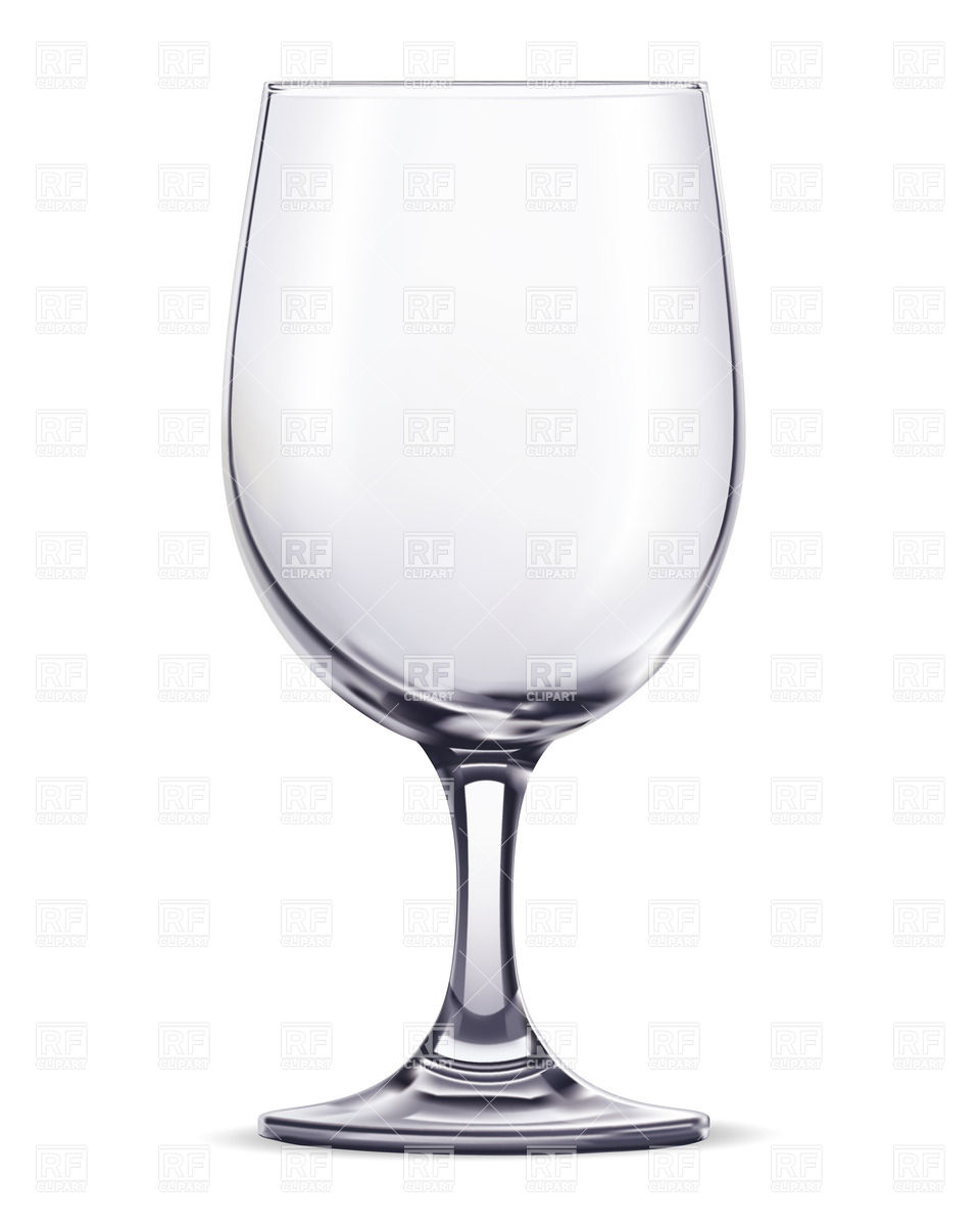 Empty glass Vector Image #26298.
