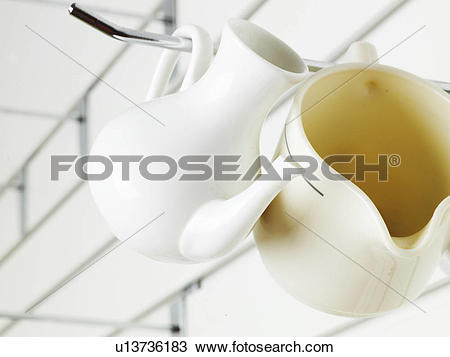 Stock Photo of object, house item, cup holder, creamer u13736183.