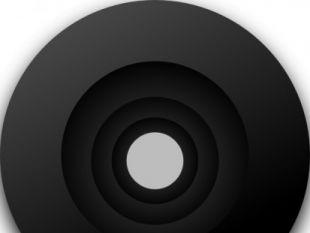 Objective Lens clip art.