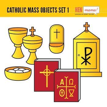 Catholic Mass Objects.