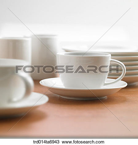 Stock Photo of object, table, tableware, coffee cup, cup, mug.