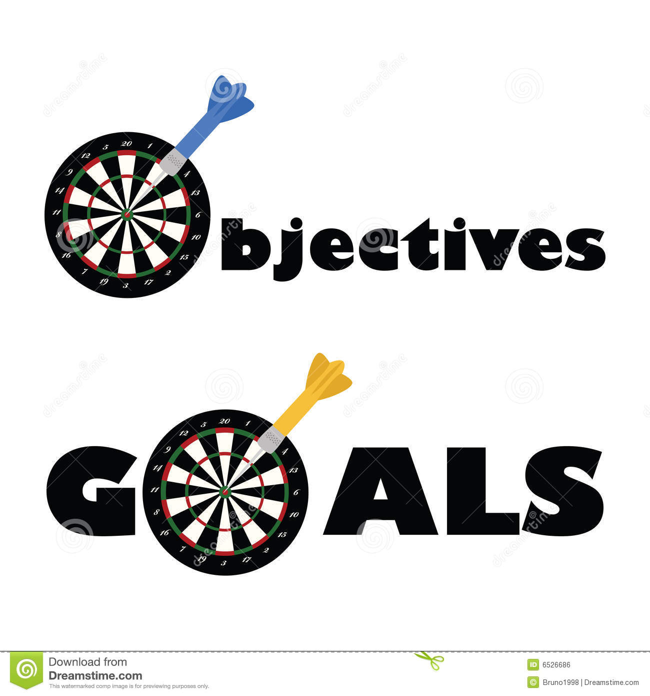 Goals And Objectives Clipart.
