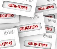 Obligations Stock Illustrations.