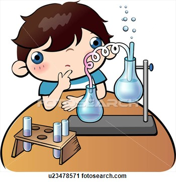 Science observation clipart.