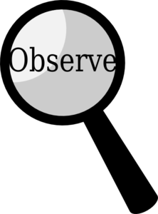 Observation 20clipart.