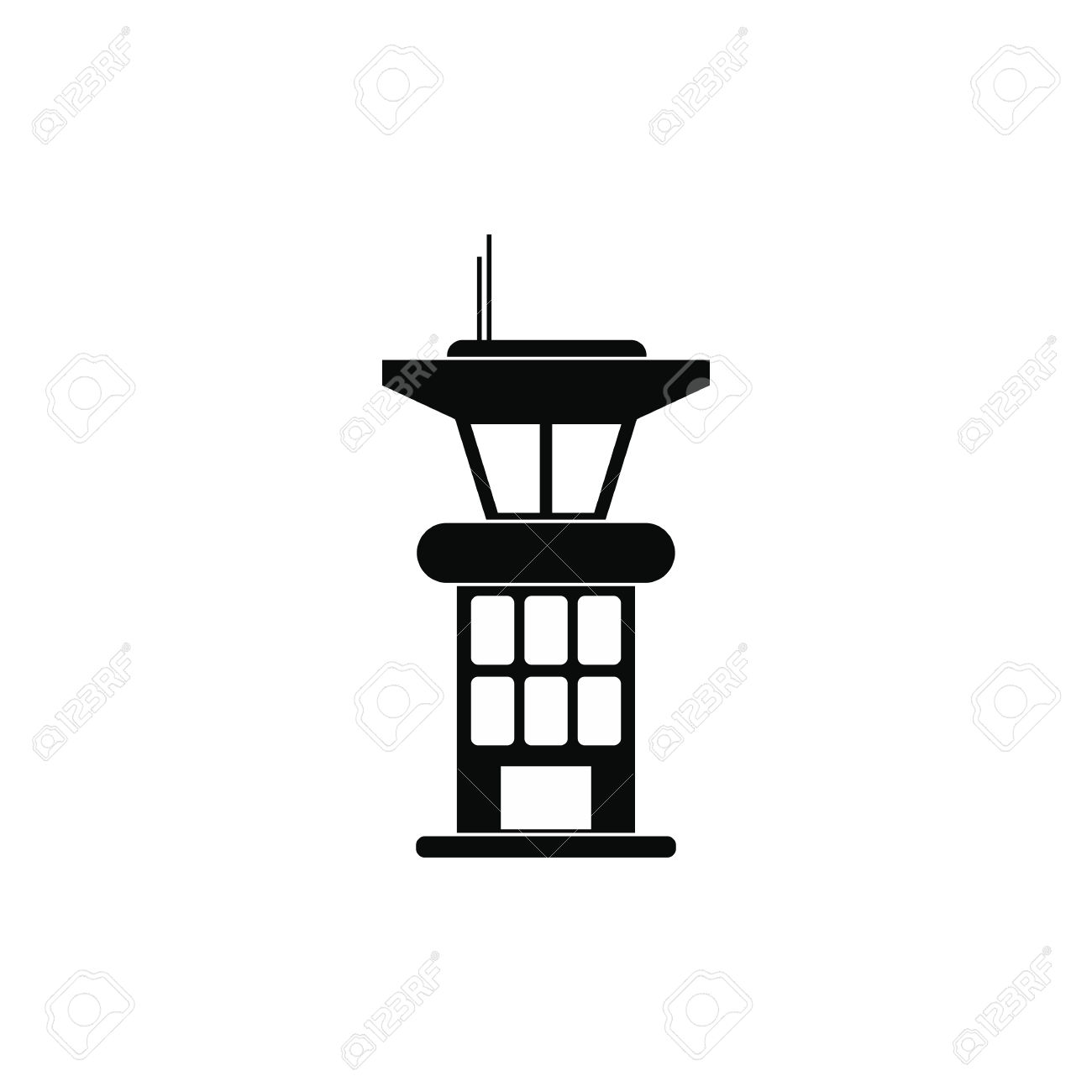 339 Observation Tower Stock Vector Illustration And Royalty Free.
