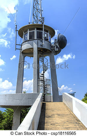 Stock Image of Observation Tower.
