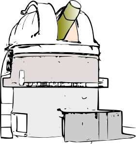 Observatory Clipart.