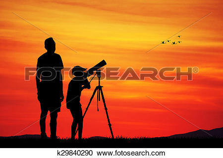 Stock Illustrations of naturalistic observatory k29840290.
