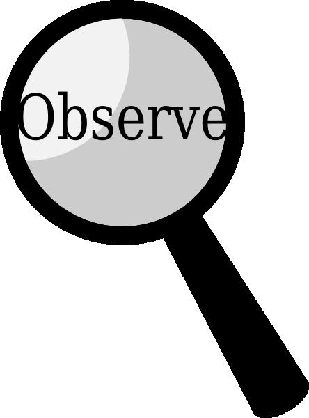 Observe Clipart.