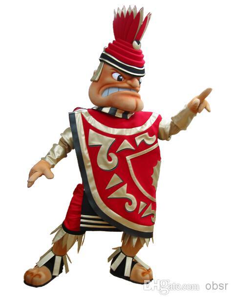 Fast Ship Aztec Halloween Dress Mascot Costume Party Costume.