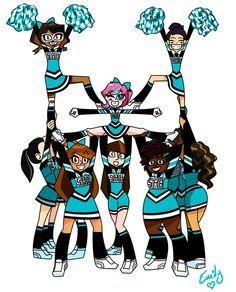Image result for cheerleader cartoon.