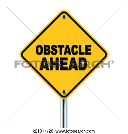 Stock Illustration of Overcoming obstacles k5295528.