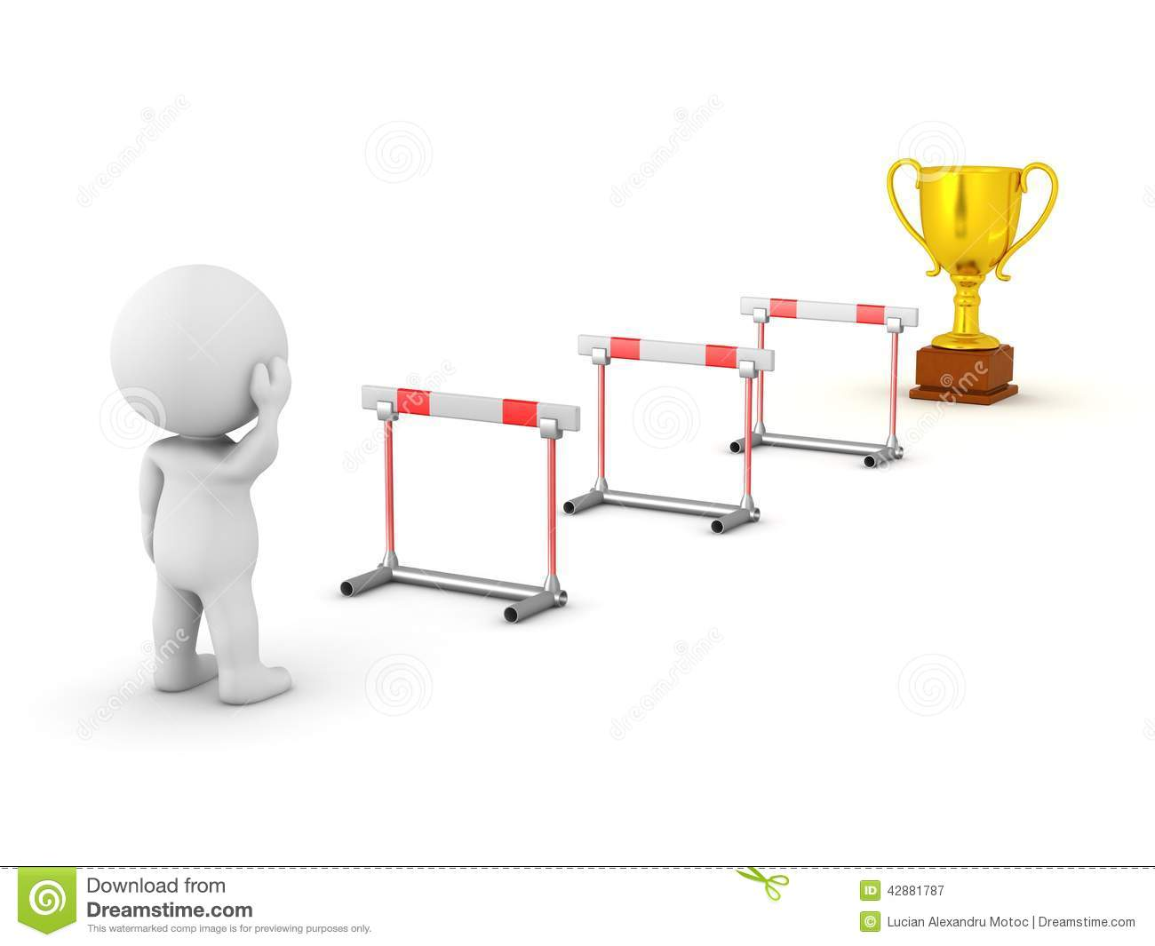 Obstacles Clipart.