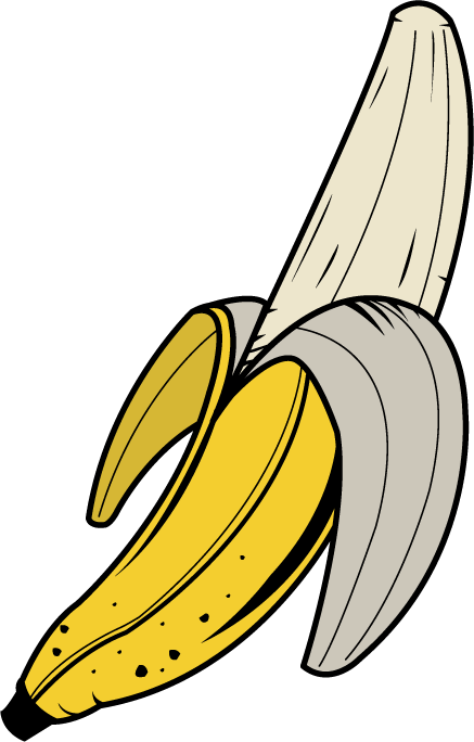 Clipart Of Banana.