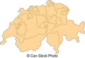 Swiss map Vector Clip Art Royalty Free. 699 Swiss map clipart.