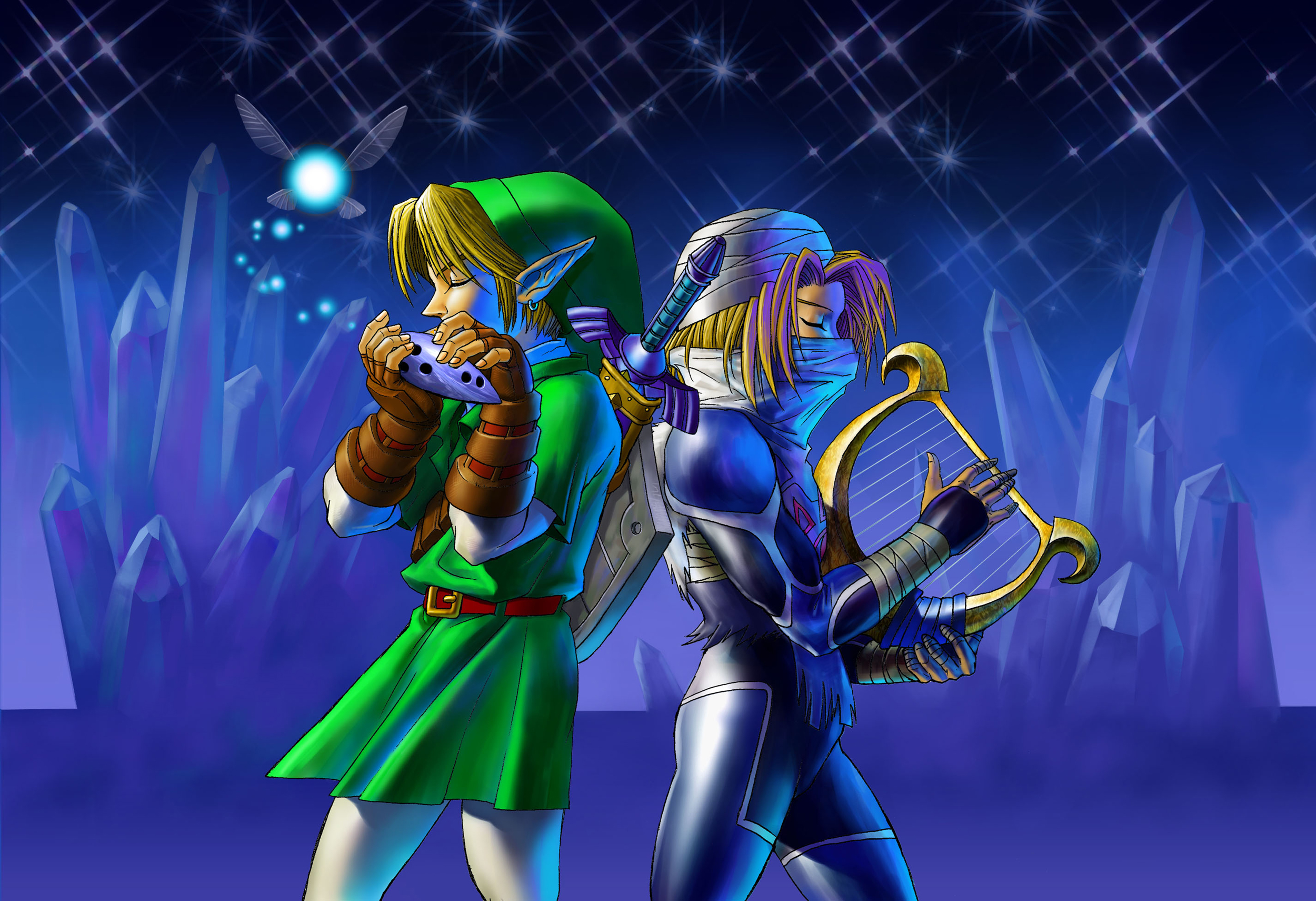 Ocarina Of Time 3d Clipart.