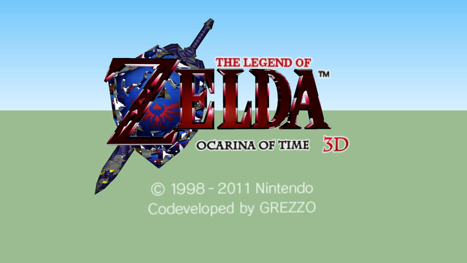 Title Logo (Ocarina of Time 3D).
