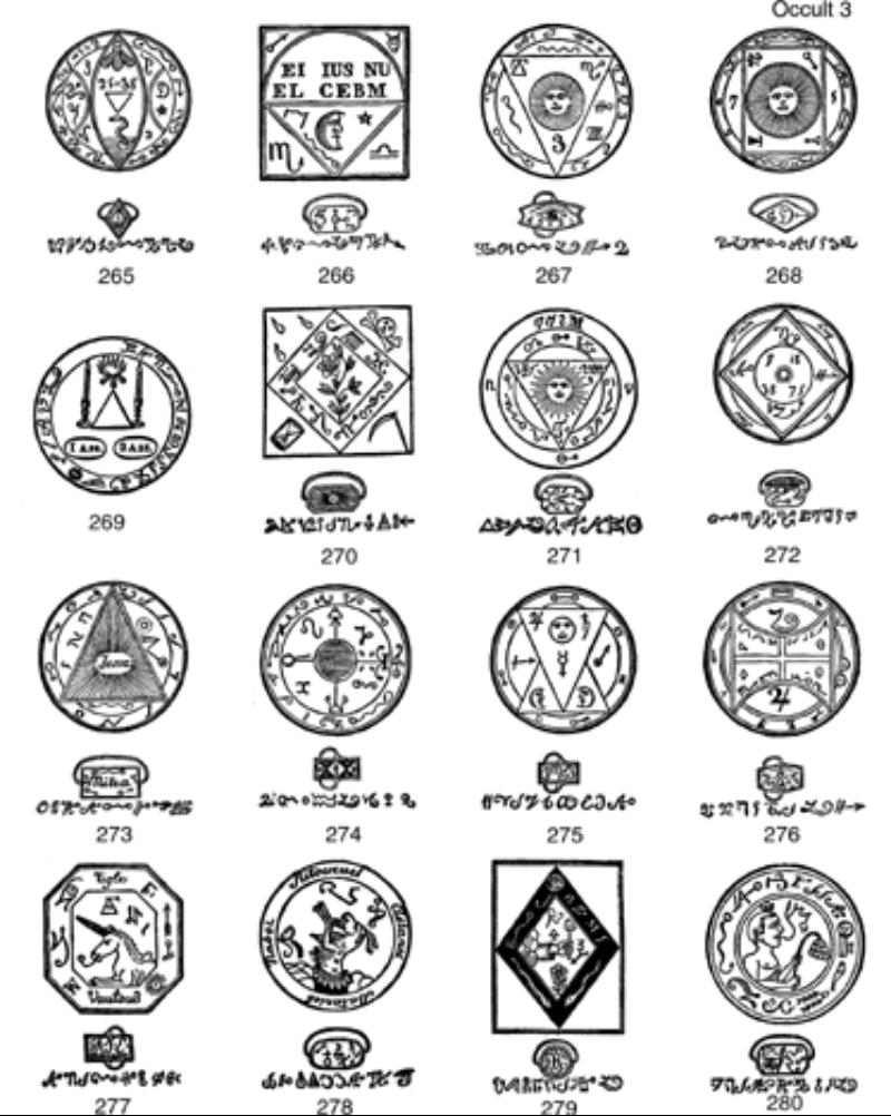 Occult Clip Art.