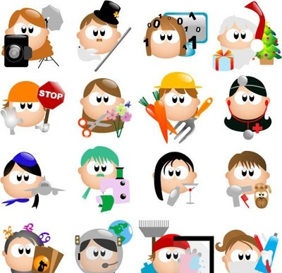 Occupation clipart images.