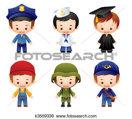 Occupations Stock Illustrations. 1,148 occupations clip art images.