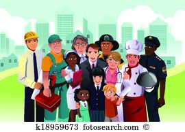 Occupation Clip Art Illustrations. 74,209 occupation clipart EPS.