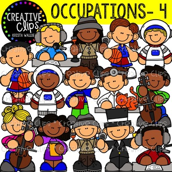 Occupation Clipart 4 {Creative Clips Clipart}.