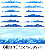 Royalty Free Mountain Illustrations by Tonis Pan Page 1.