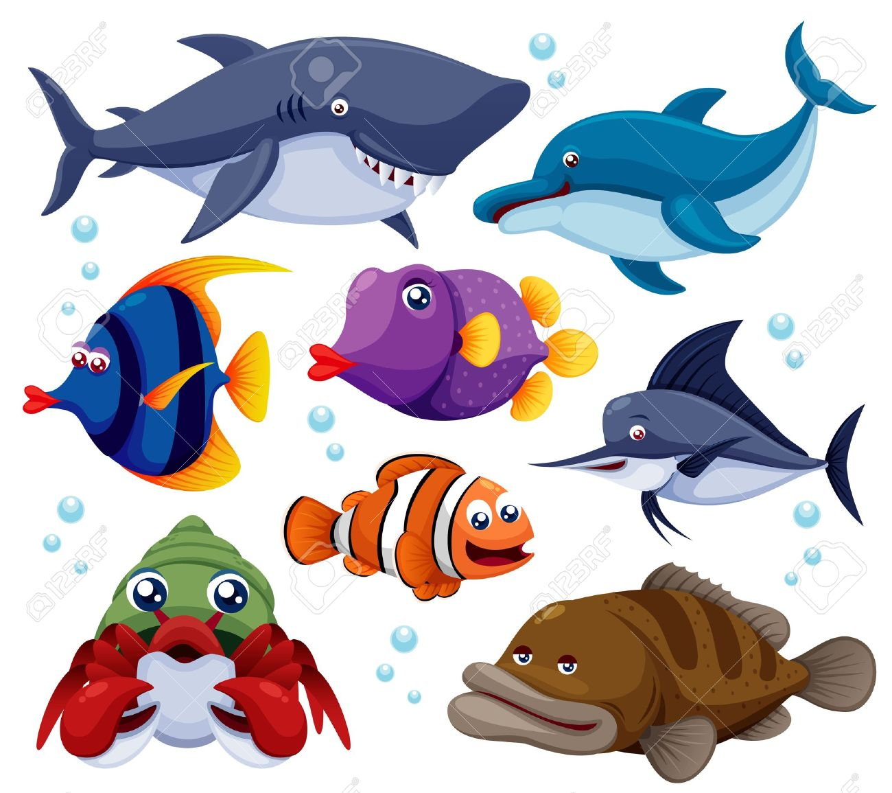 14,161 Sea Creatures Stock Illustrations, Cliparts And Royalty.