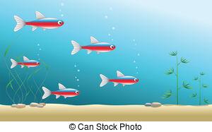 Ocean aquarium clipart #14