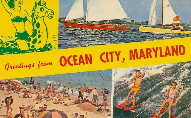 Ocean City Clip Art.