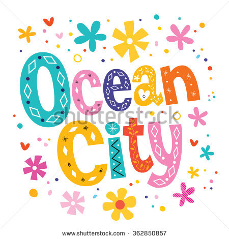 Ocean City Stock Photos, Royalty.