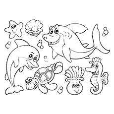 35 Best Free Printable Ocean Coloring Pages Online.
