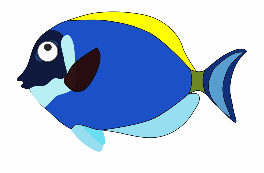 Fish Clipart Character.