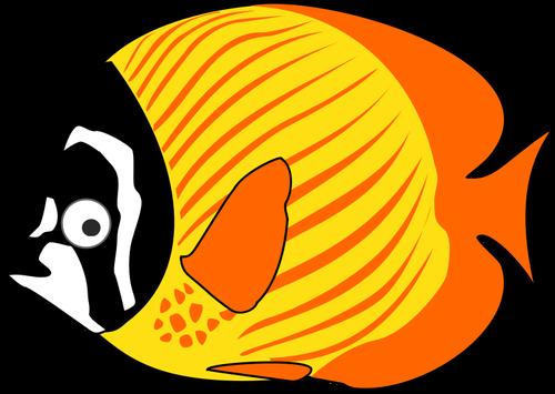 Tropical ocean fish.