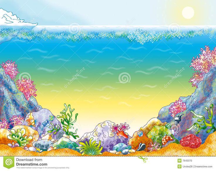 ocean floor clipart - photo #6