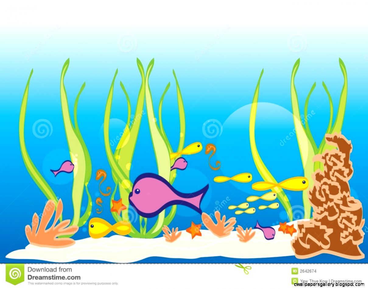 Ocean floor clipart black and white.