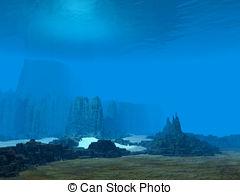 Ocean floor Stock Illustrations. 726 Ocean floor clip art images.